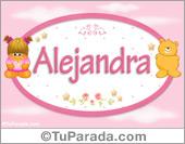 Alejandra - Nombre para bebé