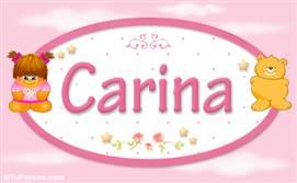 Carina - Con personajes