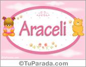 Araceli - Con personajes