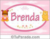Brenda - Con personajes