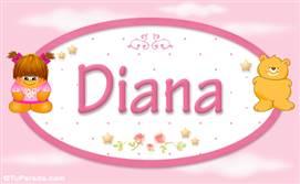 Diana - Con personajes