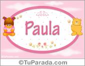 Paula - Con personajes