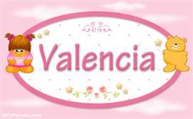 Valencia - Con personajes