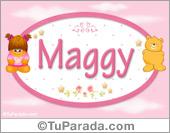 Maggy - Nombre para bebé