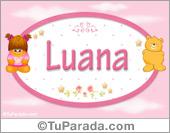 Luana - Con personajes