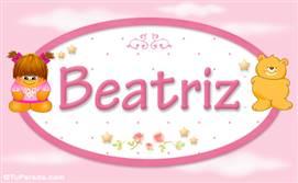 Beatriz - Con personajes