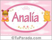 Analia - Con personajes