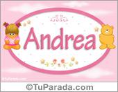 Andrea - Con personajes