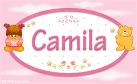 Camila - Con personajes