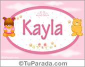 Kayla  - Con personajes