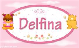 Delfina - Con personajes