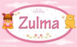Zulma - Nombre para bebé