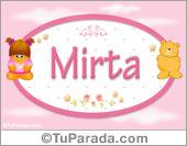 Mirta - Con personajes