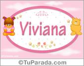 Viviana - Con personajes