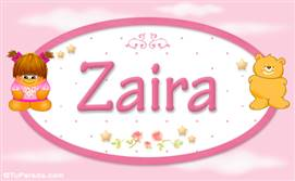 Zaira -Con personajes
