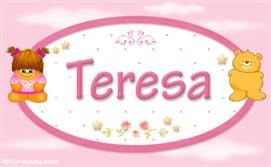 Teresa - Con personajes