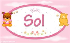 Sol - Con personajes