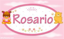 Rosario - Con personajes