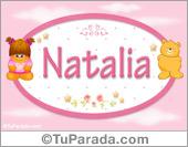 Natalia - Con personajes