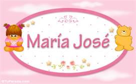 Maria José - Con personajes