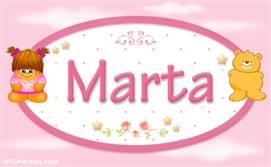 Marta - Con personajes