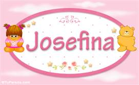 Josefina - Con personajes