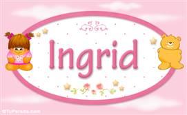 Ingrid - Con personajes