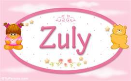 Zuly - Nombre para bebé