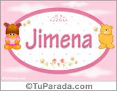 Jimena - Con personajes