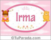 Irma - Con personajes
