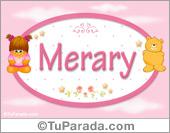 Merary - Nombre para bebé