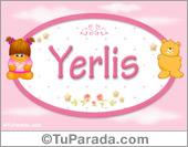 Yerlis - Nombre para bebé