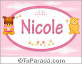 Nicole - Con personajes