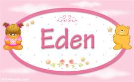 Eden - Con personajes