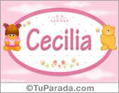 Cecilia - Con personajes