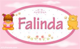 Falinda - Con personajes
