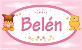Belén - Nombre para bebé