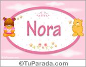 Nora -Con personajes