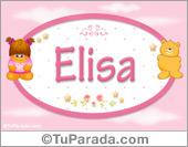 Elisa - Con personajes