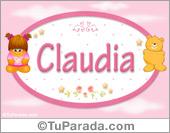 Claudia - Con personajes