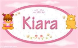 Kiara - Con personajes