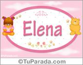 Elena - Con personajes