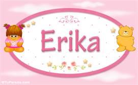 Erika - Con personajes