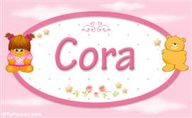 Cora - Con personajes