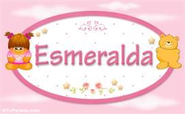 Esmeralda - Nombre para bebé