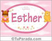 Esther - Nombre para bebé