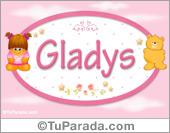 Gladys - Nombre para bebé