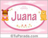 Juana - Nombre para bebé