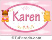 Nombre Nombre para bebé, Karen