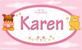 Karen - Nombre para bebé